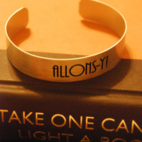 Doctor Who - Allons-y Bracelet