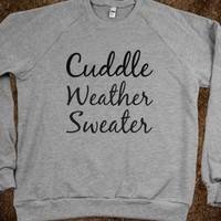 cuddle weather sweater - glamfoxx.com