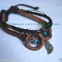 2012 new arrival beaded dream catcher bracelet design D