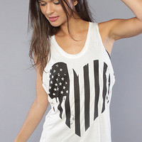 The D Heart Singlet : Your Eyes Lie : Karmaloop.com - Global Concrete Culture