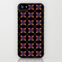 Rainbow Petals iPhone Case by Alice Gosling | Society6