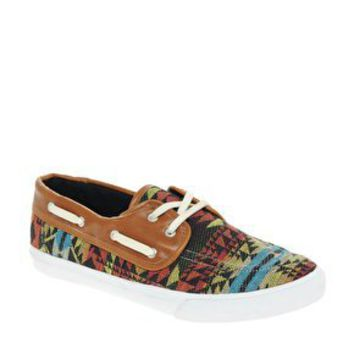 ASOS | ASOS Rubber Sole Navajo Boat Shoe at ASOS.|$35.94