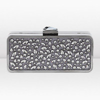 Jimmy Choo | Claudia | Metal/Glitter Acrylic Clutch Bag for Autumn Winter 11 | JIMMYCHOO.COM