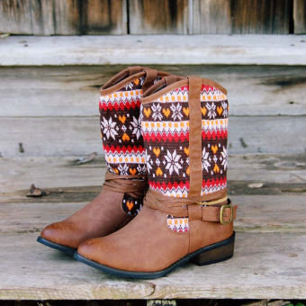 Cozy Cabin Boots, Sweet Rugged Boots &amp; Shoes
