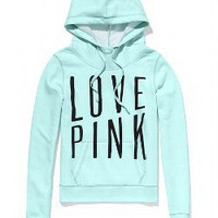 Funnel Neck Perfect Pullover - Victorias Secret PINK - Victoria&#x27;s Secret