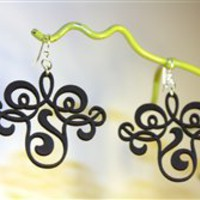 Green Tree Jewelry Vintage Filigree Earrings