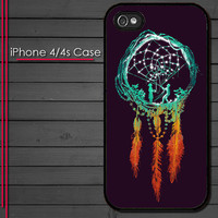 iPhone 4 Case - Colorful Dream Catcher - iPhone 4s Case - iPhone 4 cover  skin -