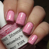 On Wednesday's We Wear PINK Nail Polish 15ml (.5oz)