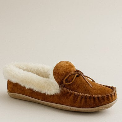 Women's shoes - slippers - Lodge moccasins - J.Crew