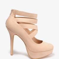 Strappy Platform Pumps | FOREVER 21 - 2030533202