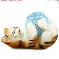 Christmas Sale 30% off Cats Of Character Figurine  &quot;Roly Poly&quot;  by Danbury Mint