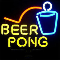 Neon Beer Pong Game