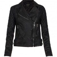 Womens Leather Biker Jacket | Walker Jacket | AllSaints