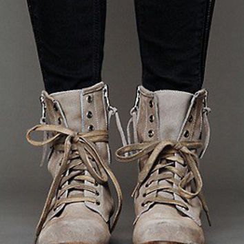 Free People Clothing Boutique > Greyson Lace Up Boot