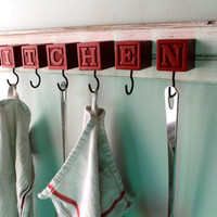 Kitchen Block hanging rack
