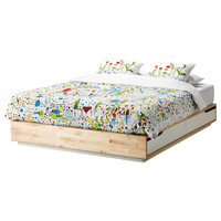 MANDAL Bed frame with storage - Queen  - IKEA