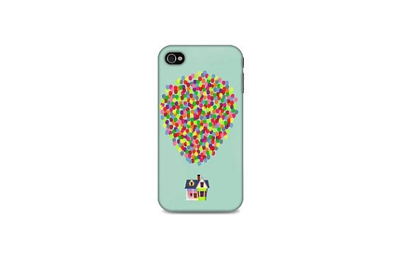 Iphone (4/4S/5) Case - Up