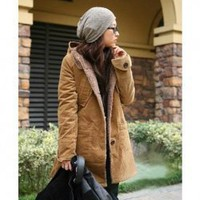 Retro Style Free Size Long Sleeve Coat China Wholesale - Sammydress.com