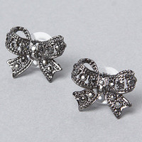 The Midnight Romance Iconic Bow Stud Earring : Betsey Johnson  : Karmaloop.com - Global Concrete Culture