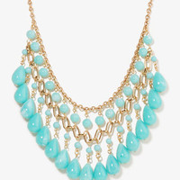 Dangling Beaded Necklace | FOREVER 21 - 1040494962