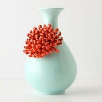 Curvy Chrysanthemum Vase - Anthropologie.com