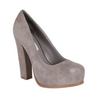 SARRINA TAUPE SDE women's dress high slingback - Steve Madden