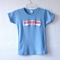 90s PASTEL CYBER Quote Tiny Screen Print Neon T-Shirt xs