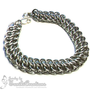 Jamie - GSG Chainmaille Bracelet (Bright Aluminum)