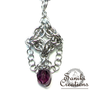Nessie - Byzantine/Olivia Chainmaille Pendant (Amethyst) - Exclusive Gift to Vanessa Lachey