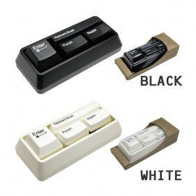 Mini Keyboard Sets /stapler/hole puncher/keyboard cleaner/clip adsorber [#00300201] - US$9.76 : Amazplus.com