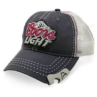 Coors Light Bottle Opener Baseball Cap