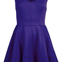 Ribbed V Front Skater Dress - New In This Week  - New In