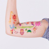 Tattly? Designy Temporary Tattoos &amp;mdash; Menagerie (Set)
