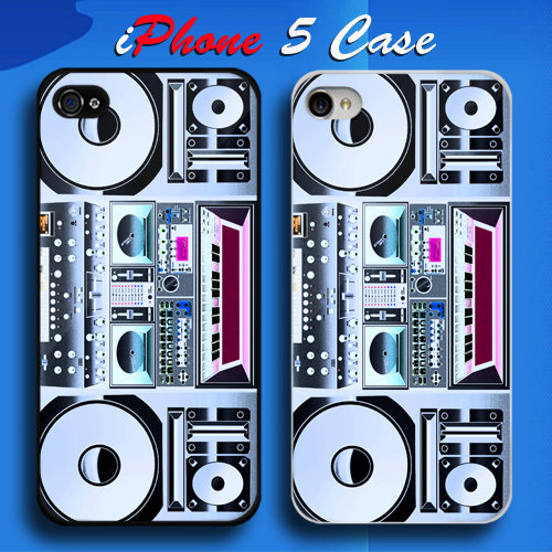 Truntable sound system Custom iPhone 5 Case Cover from namina