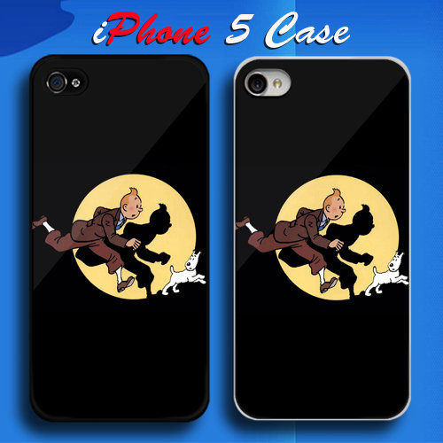 Tintin Custom iPhone 5 Case Cover from namina