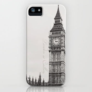London is Calling iPhone Case by Kate Perry | Society6