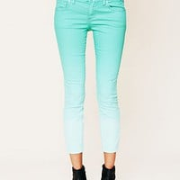 Free People Free People Dip Dye 5 Pocket Skinny Jeans