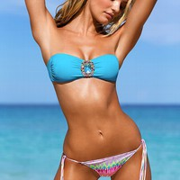Jeweled Bandeau Top