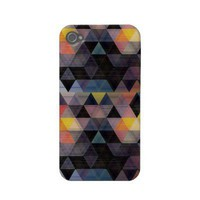 modern geometric pattern - iPhone Case-mate Iphone 4 Cases from Zazzle.com