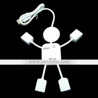 Stick Man 4 Port USB 2.0 Hub [#00171850] - US$22.66 : Amazplus.com