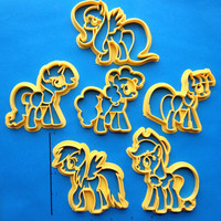 MLP Mane Six Cookie Cutters
