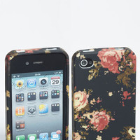 Design Lab &#x27;Painterly Floral&#x27; iPhone 4 &amp; 4S Case | Nordstrom