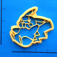 Pikachu Pokemon Cookie Cutter