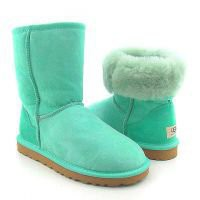 UGG Classic Short Green 5825 Outlet UK