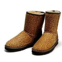 UGG Classic Short Leopard 5825 Outlet UK