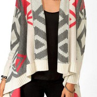 Colorblocked Geo Cardigan | FOREVER 21 - 2019766964