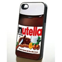 Iphone 4/4s Case - Nutella-Black