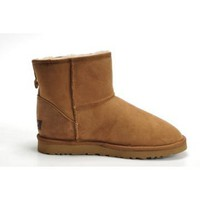 Chestnut Ugg Men's mini Boots Outlet UK