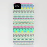 Aztec Tribal Pattern, iPhone 4 case, iPhone 4s Case, Hard Plastic, FREE shipping worldwide