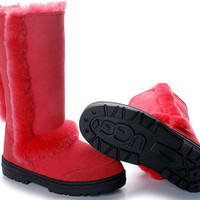 Ugg Sundance II 5325 Red Boots Outlet UK